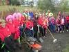 Kirkhill school and volunteers