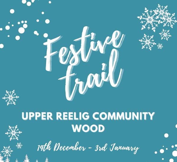 Festive trail poster with dates